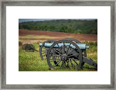 Civil War Artillery Framed Print