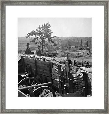 Civil War: Atlanta, 1864 Framed Print