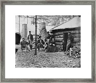 Civil War: Brandy Station Framed Print by Granger