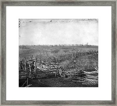 Civil War: Bull Run, 1861 Framed Print