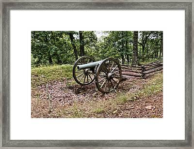 Civil War Cannon 1 Framed Print
