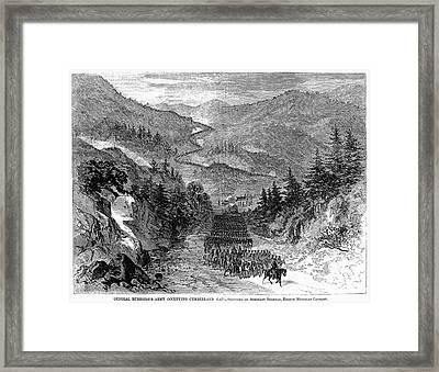 Civil War: Cumberland Gap Framed Print by Granger