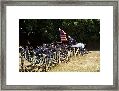 Civil War Days 07 Framed Print