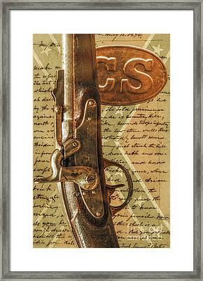 Civil War Family Memories Framed Print by Randy Steele