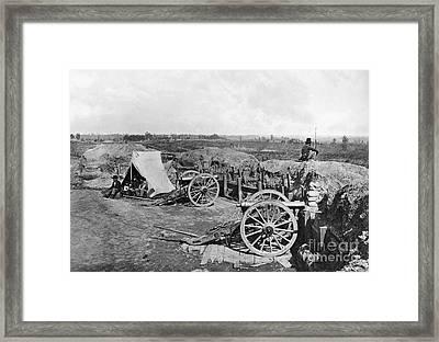 Civil War: Fortifications Framed Print