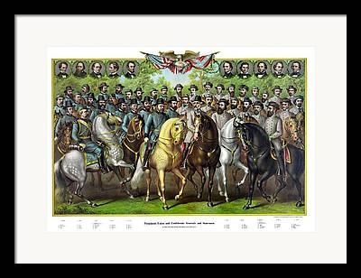 General Burnside Framed Prints