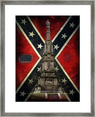 Civil War Memorial Framed Print