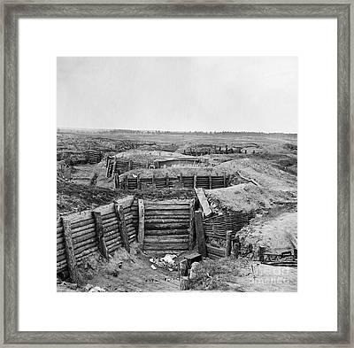 Civil War: Petersburg Framed Print