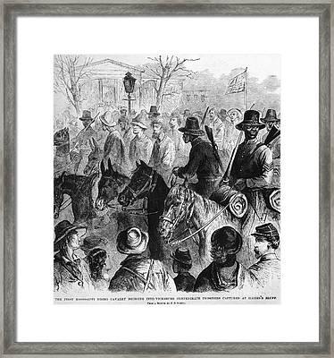 Civil War: Prisoner, 1864 Framed Print by Granger