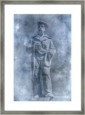 Civil War Sailor Statue Clarion Park Framed Print
