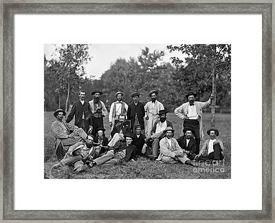Civil War: Scouts & Guides Framed Print by Granger