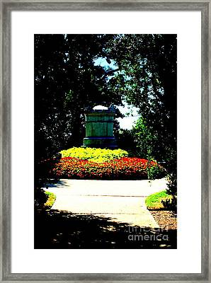 Civil War Unknowns At Arlington Cemetery Framed Print