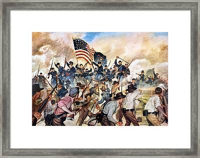 Civil War: Vicksburg, 1863 Framed Print by Granger