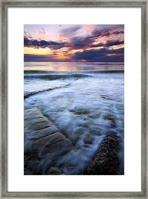 Civilization Forgotten Framed Print by Mike  Dawson