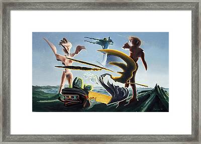 Civilization Found Intact Framed Print by Dave Martsolf
