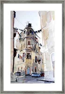 Civitas Framed Print by Omar Jaramillo
