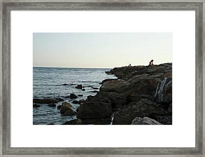 Civitavecchia Framed Print