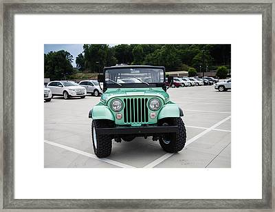 CJ5 Framed Print