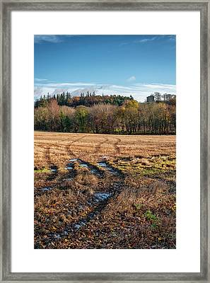 Framed Print featuring the photograph Clackmannan Tower In Central Scotland by Jeremy Lavender Photography