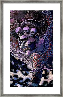 Claiming Lost Souls  Framed Print