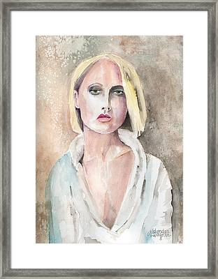 Claire - The Engaging Spirit Framed Print