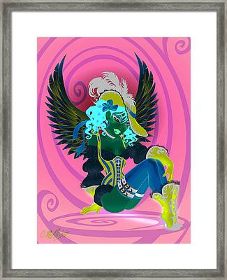Claire Framed Print by Cristina McAllister