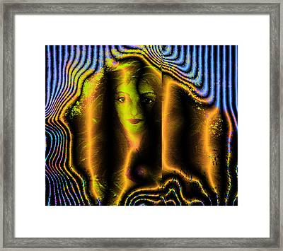 Claire In Tin II Framed Print by Patricia Motley