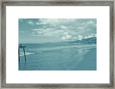 Clam Capital Framed Print by JAMART Photography