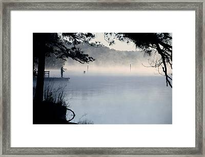 Calm Day Framed Print