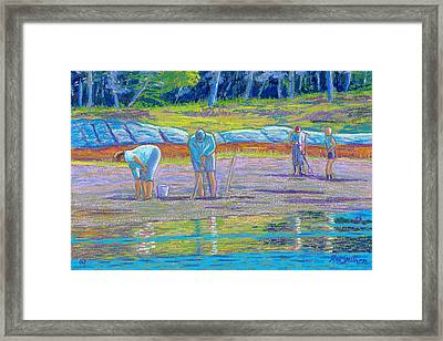 Clam Diggers Framed Print by Rae  Smith  PSC