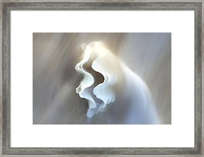 Clam Flow Framed Print by Sean Davey