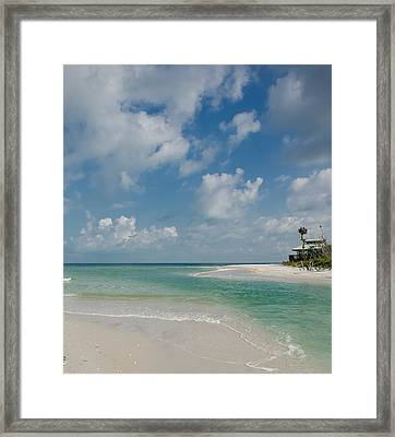 Clam Pass Framed Print