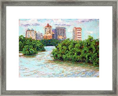 Clam Pass I Framed Print by Laurie Paci