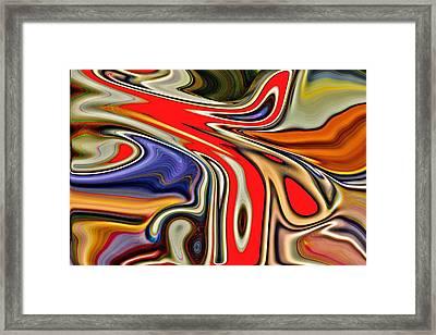 Clamor Framed Print