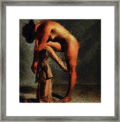 Clamor  Framed Print by Sir Josef - Social Critic -  Maha Art