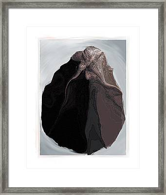 Clamscape Framed Print by Nuff