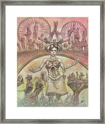 Clan Framed Print