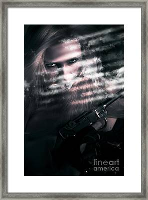 Clandestine Secret Agent Framed Print by Jorgo Photography - Wall Art Gallery