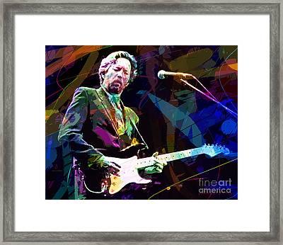Clapton Live Framed Print