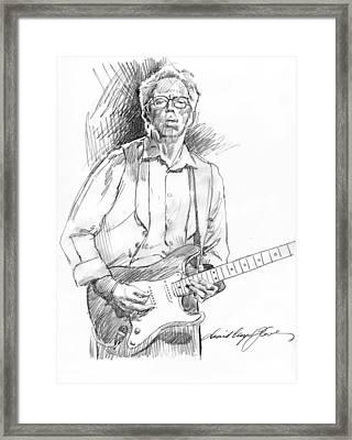 Clapton Riff Framed Print