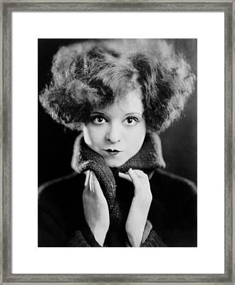 Clara Bow, Ca. 1924 Framed Print by Everett