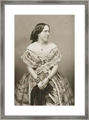 Clara Novello, 1818-1908. English Framed Print by Vintage Design Pics
