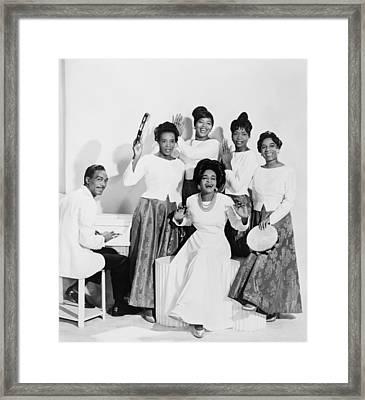 Clara Ward 1924-1973 With Her Gospel Framed Print