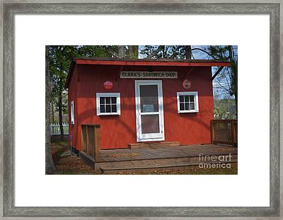 Clara's Place Framed Print by Skip Willits