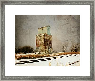 Framed Print featuring the photograph Clare Elevator by Julie Hamilton
