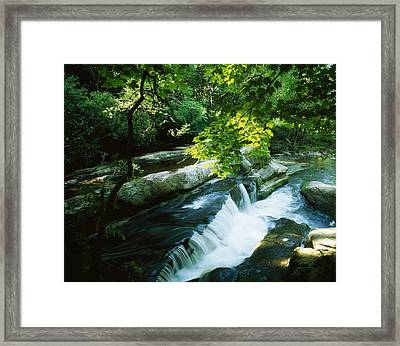 Clare Glens, Co Clare, Ireland Framed Print by The Irish Image Collection
