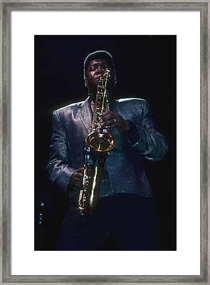 Clarence Clemons Framed Print