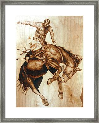 Clarence Sunfishin' Framed Print