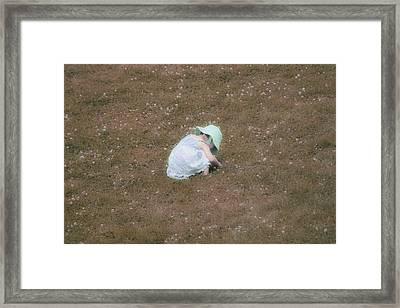 Claridad Framed Print by The Art Of Marilyn Ridoutt-Greene