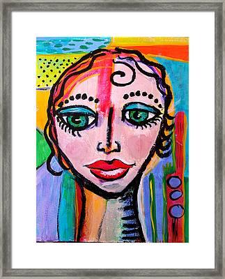 Clarissa - Vivid Vixen 3 Framed Print